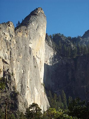 Leaning Tower, Yosemite - Leaning Tower, Yosemite Valley
