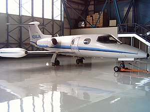 Learjet 24 -  Learjet 24 s/n 131 at Wings Museum. April 2011