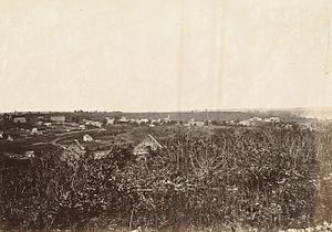 Lecompton, Kansas - Lecompton in 1867.