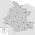 Leere Karte Gemeinden im Bezirk HO.PNG