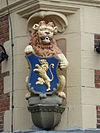 leeuwarden - waag - wapen van leeuwarden