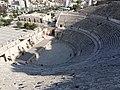 Left side of the Roman Theatre in Amman.jpg