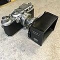 Leica IIIb 1940 with 1949 Summitar (32603806100).jpg