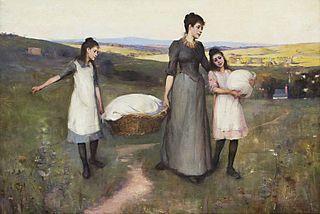 The village laundress