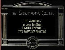 Episode 8: The Thunder Master (1916)