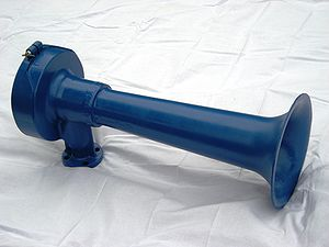 Train horn - Leslie A200-156, a single chime horn used on locomotives in the early days of dieselization