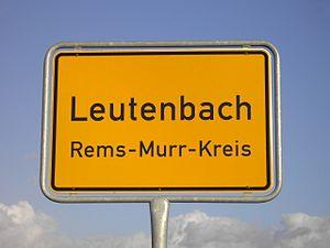 Leutenbach, Baden-Württemberg - Leutenbach