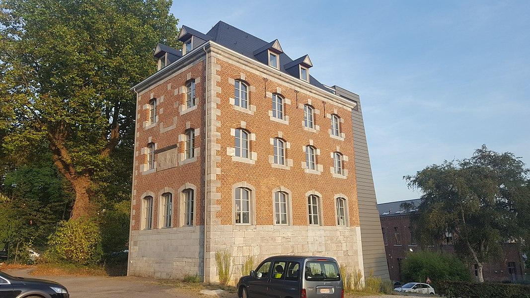 Ancienne brasserie, Liège, Belgique