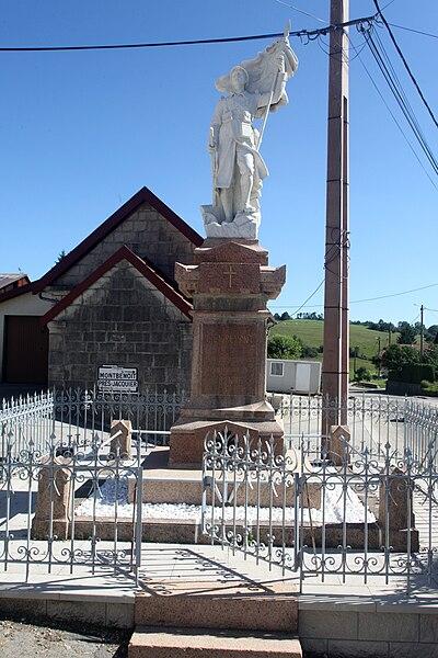 Monument aux morts de Lièvremont (Doubs).