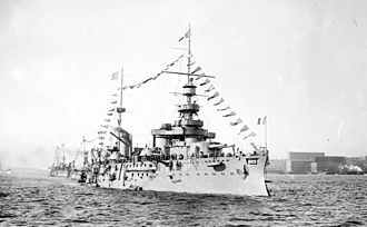 French battleship Liberté - Image: Liberte French Battleship LOC 04282u