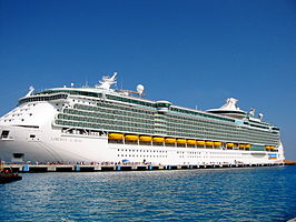 Cruiseschip Liberty of the Seas in Cozumel