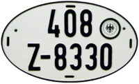 Vehicle registration plates of Germany - Wikipedia