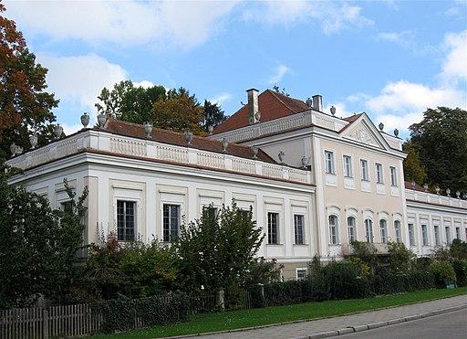 Villa Lauser (ehemals Dittmer'schers Gartenpalais), Oberer Wöhrd in Regensburg, Lieblstr. 2