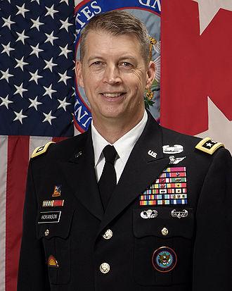 41st Infantry Brigade Combat Team (United States) - Image: Lieutenant General Daniel R. Hokanson