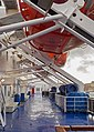 Lifeboat deck on Stena Danica 1.jpg