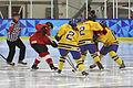 Lillehammer 2016 - Women hockey - Sweden vs Switzerland 40.jpg