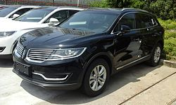 Lincoln MKX (2015–2018)