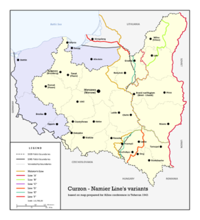 Polish–Soviet border agreement of August 1945