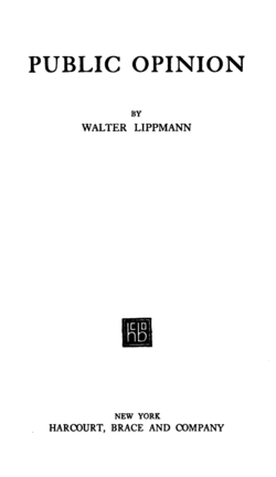 Lippmann Public Opinion title page.png