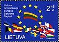Lithuania presidency EU stamp 2013.jpg