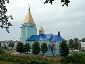 Liuboml Volynska-Saint George church-south-east view.jpg