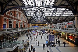 Liverpool Street station, London, England-26Feb2011