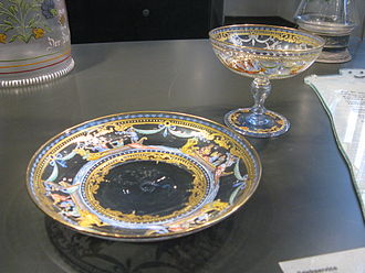 J. & L. Lobmeyr - Glass by Lobmeyr, around 1880