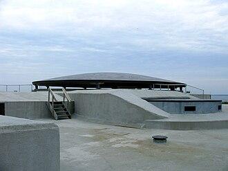 Stelling van Amsterdam - Fortifications on Pampus island.