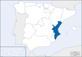 Location of Valencia