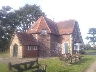 St Woolos Cemetery - Image: Lodge in St Woolos Cemetery, Newport