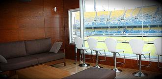 Stade Ibn Batouta - Image: Loge VIP Stade Tangeri