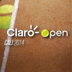 "Logo of the ""Claro Open Cali"" tournament"