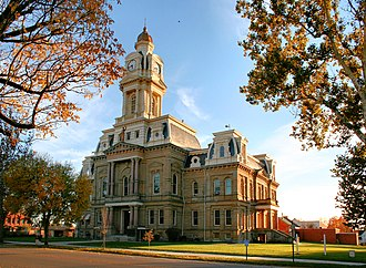 London, Ohio - Madison County courthouse