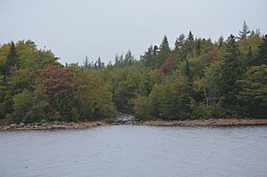 Long Lake Provincial Park (Nova Scotia) - General view