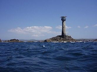 Sennen - Image: Longships Lighthouse geograph.org.uk 188226