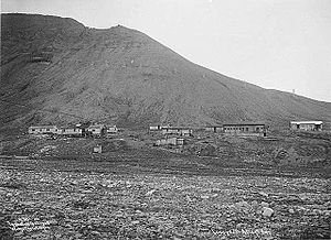 Milutin Milanković - Coal mining in Svalbard on 1908.