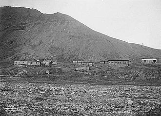 Longyearbyen - Longyear City in 1908