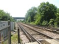 Looking towards Petersfield at the Lord's Farm Crossing - geograph.org.uk - 1330204.jpg