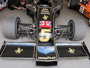 Lotus 77 - Front end of the Lotus 77