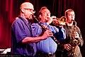Louis Armstrong Centennial Band at Birdland, New York City (3668880155).jpg