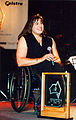 Louise Sauvage at the 1996 Australian Paralympian of the Year Awards (1).jpg