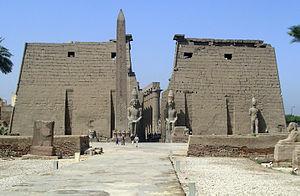 Antiguo Egipto: Templo de Luxor