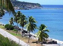 Sint Eustatius Wikipedia - Sint eustatius map