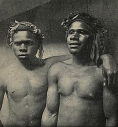 Loyalty Islanders employed as sailors on the New Caledonian coast, c. 1906.jpg