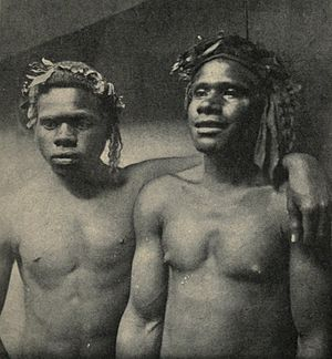 Kanaka (Pacific Island worker) - Loyalty Islanders employed as sailors on the New Caledonian coast