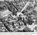 Luchtfoto met stratenplan, saneringsplan, van de binnenstad en de woonwijk Koningswei - Tilburg - 20384617 - RCE.jpg