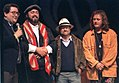 Lucio Dalla, Pavarotti e Zucchero al Pavarotti e friends 1992.jpg