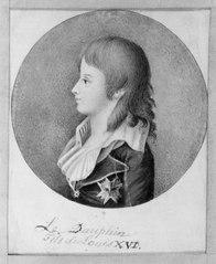 Ludvig (XVII) Dauphin, 1785-95