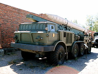 9K52 Luna-M Artillery rocket