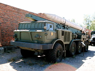 9K52 Luna-M - 9P113 TEL with 9M21 rocket